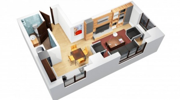 Oferta Apartament de vanzare Iasi, o camera CUG imagine 2